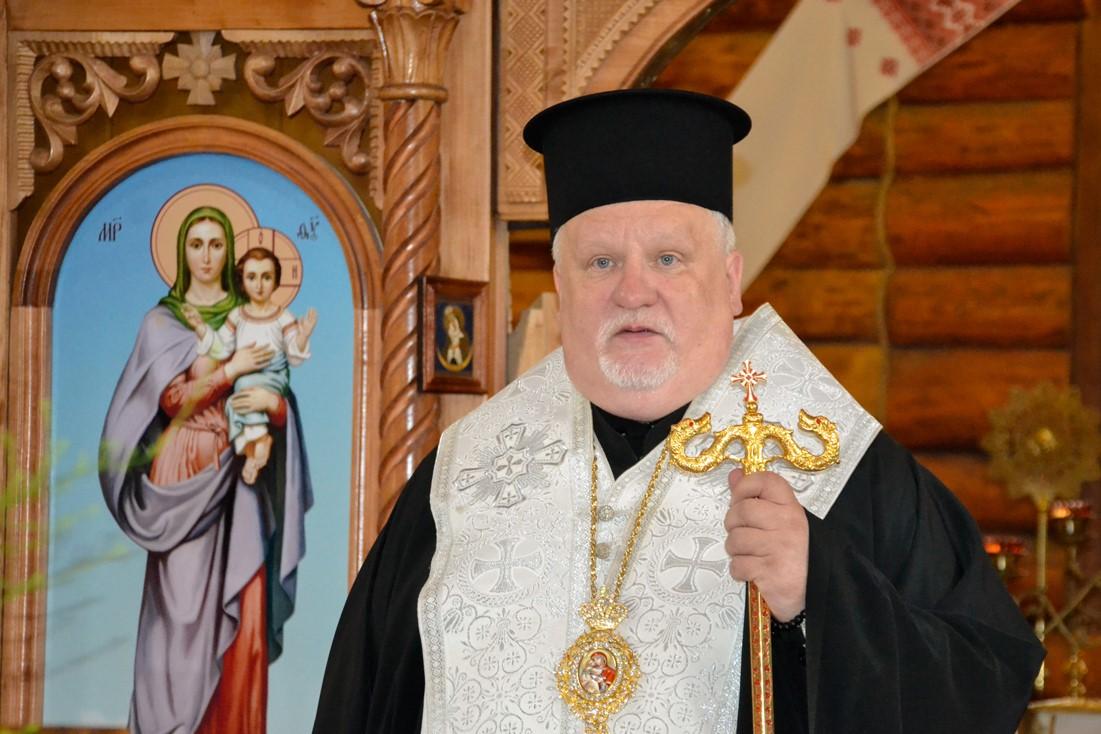 Єпископ Мукачівський і Карпатський Віктор Бедь відслужив заупокійну літію за полеглими і спочилими у Бозі борцями за незалежність України
