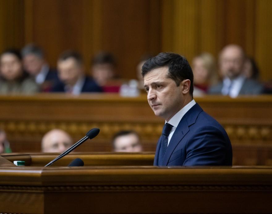 Урочисте засідання з нагоди 30-ї річниці прийняття Акта проголошення незалежності України (відео)