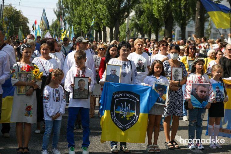 У Києві відбувся Марш захисників України (ФОТО, ВІДЕО)