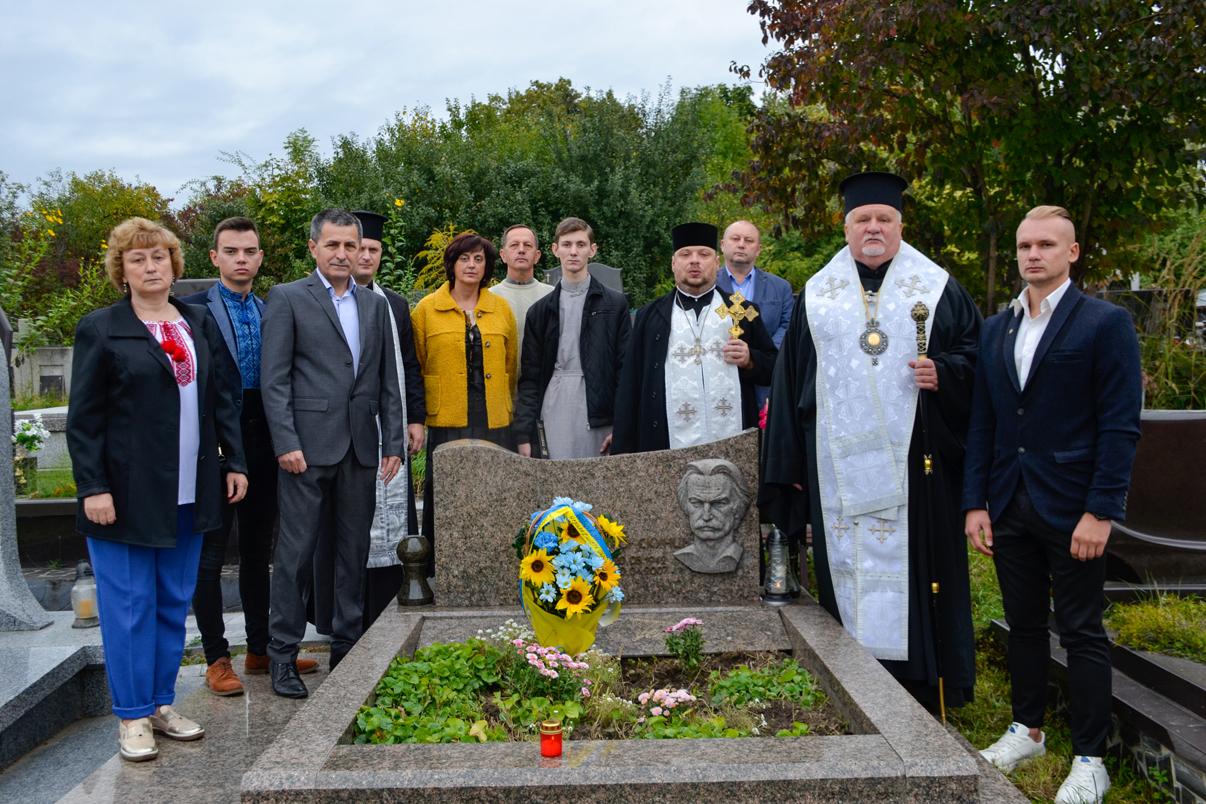 Єпископ Віктор Бедь, за участі представників української громадськості, відслужив заупокійну літію за Петром Скунцем, українським патріотом і поетом