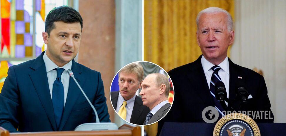 """У Путіна відреагували на переговори Зеленського і Байдена: назвали їх """"дружбою проти Росії"""""""