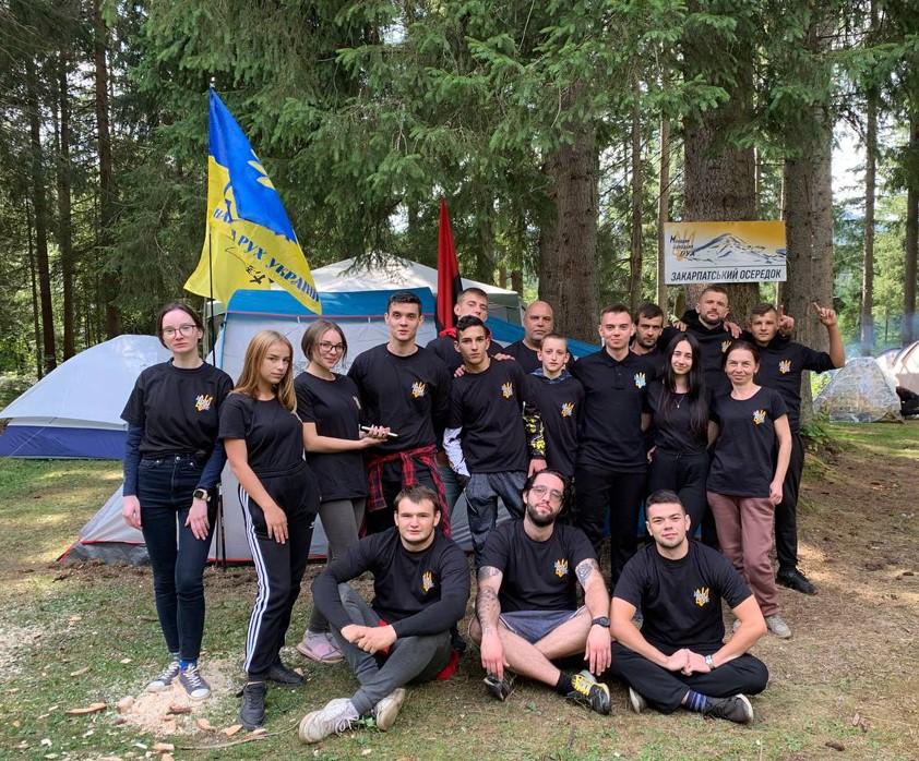 Закарпатський осередок ВГО «Молодий Народний Рух» прийняв участь у Всеукраїнському таборуванні «Говерляна – 2021»