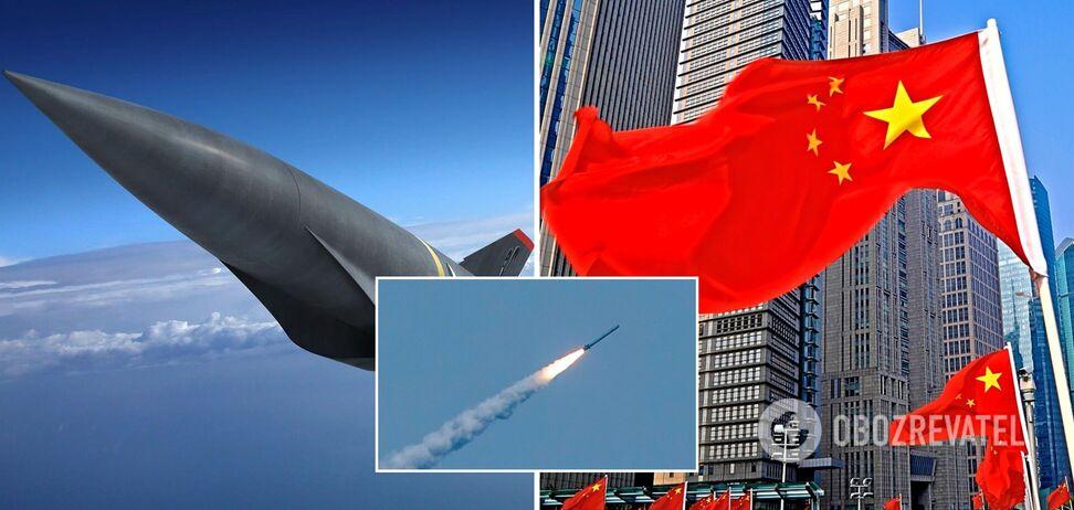 FT розповіла про випробування Китаєм гіперзвукової ракети: здатна нести ядерну зброю