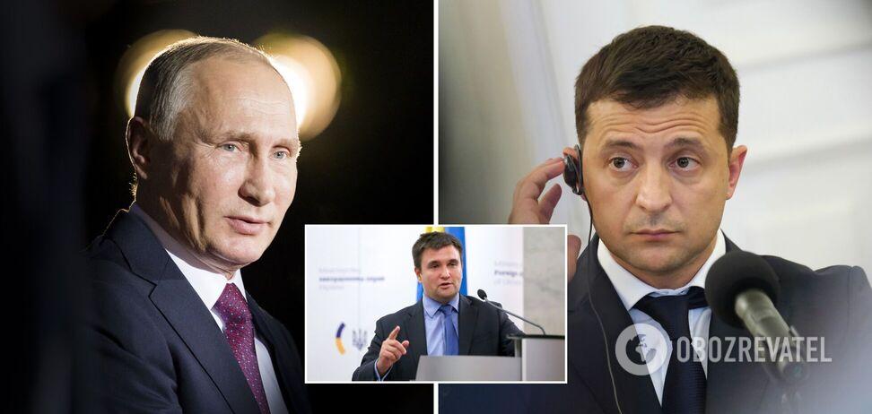 """Путін може запустити """"цунамі"""" після зустрічі із Зеленським, – Клімкін"""