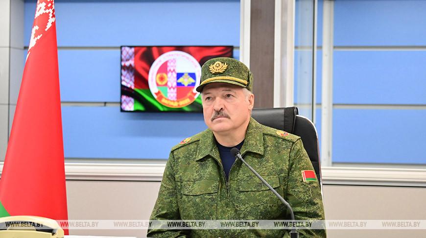 На західному напрямку фактично діє єдина армія Білорусі й Росії, – Лукашенко